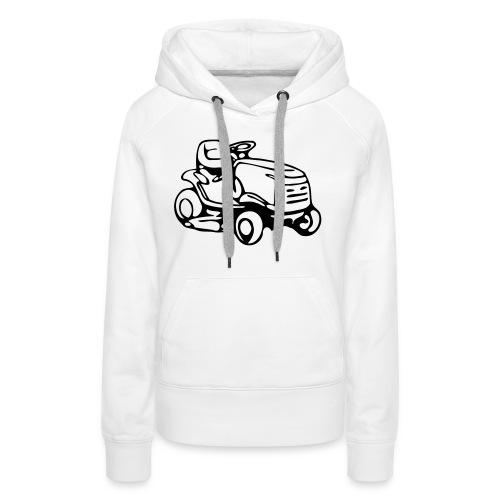 Mähmaschine - Frauen Premium Hoodie