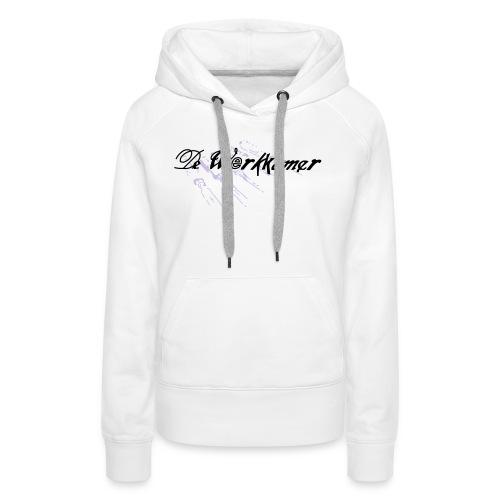 werkkamer edit - Vrouwen Premium hoodie