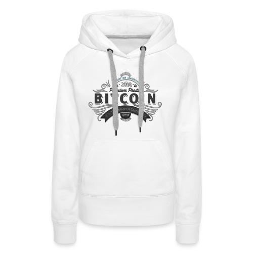Bitcoin Father of Crypto - Frauen Premium Hoodie