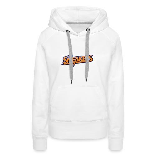 Logo_NB_03-png - Sweat-shirt à capuche Premium pour femmes