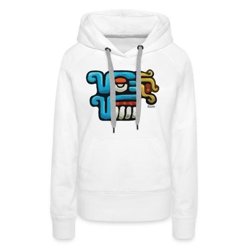 Aztec Icon Rain - Women's Premium Hoodie