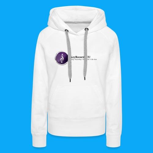 Logo KeyRecords EU - Frauen Premium Hoodie