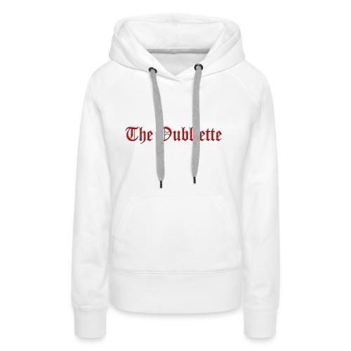 The Oubliette Apron - Women's Premium Hoodie