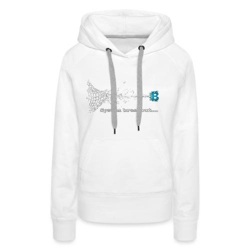 Breakout Blockchain - Frauen Premium Hoodie