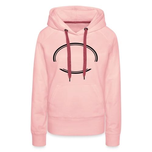 Kreis offen - Frauen Premium Hoodie