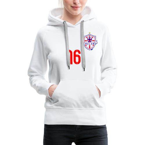 16 England 2014 Pelibol - Frauen Premium Hoodie
