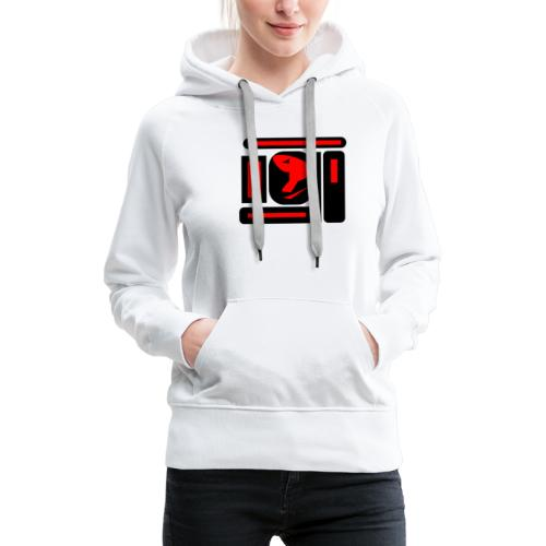 black and red hot P - Frauen Premium Hoodie