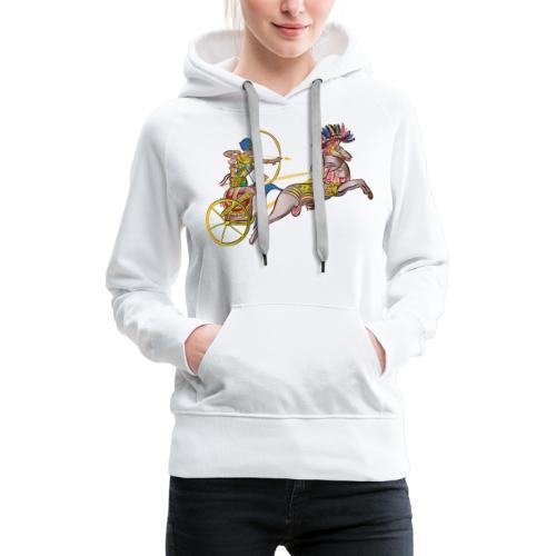 Pharao mit Streitwagen - Frauen Premium Hoodie