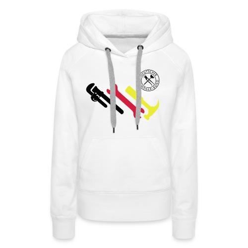 Klempner Trikot Deutschland 2014 Weltmeister - Frauen Premium Hoodie
