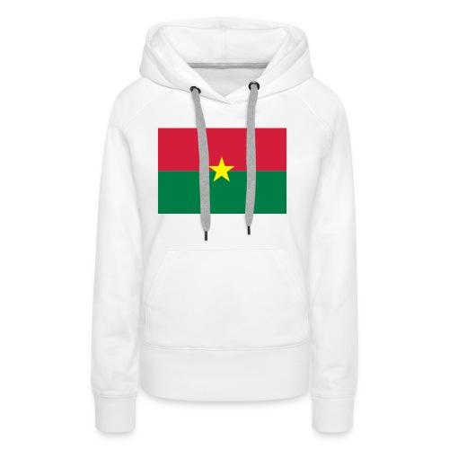 Burkina - Vrouwen Premium hoodie