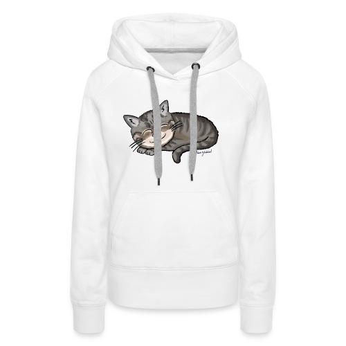 Kätzchen Lissy (sleep) - Frauen Premium Hoodie
