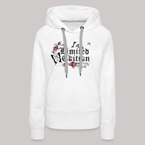 simply wild limited Edition on white - Frauen Premium Hoodie
