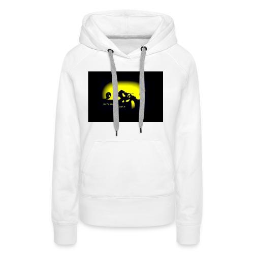 logoBlackBackground - Women's Premium Hoodie