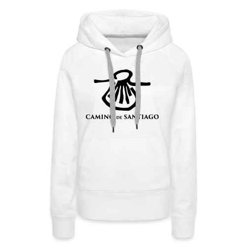 Camino de Santiago - Dame Premium hættetrøje