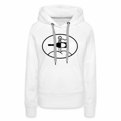 18 - Pullover - Logo groß - Frauen Premium Hoodie
