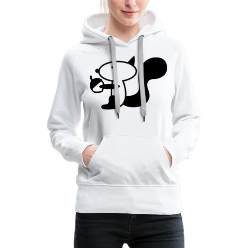 squirrelbw - Vrouwen Premium hoodie