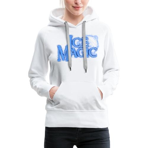 Ice Magic - Frauen Premium Hoodie