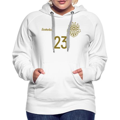23 Deutschland Trikot GOLD und SILBER Pelibol - Frauen Premium Hoodie