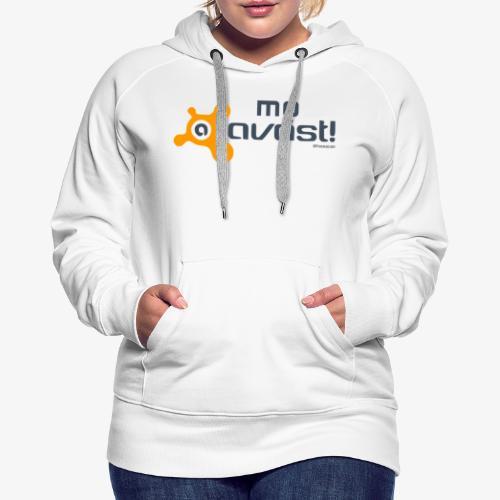 Avast! - Felpa con cappuccio premium da donna