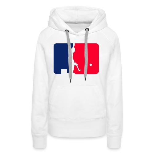Major League Tipp-Kick Shirt - Frauen Premium Hoodie
