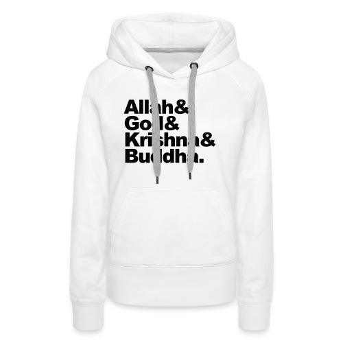 godsdiensten - Vrouwen Premium hoodie