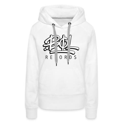 Bøl Records - Premium hettegenser for kvinner