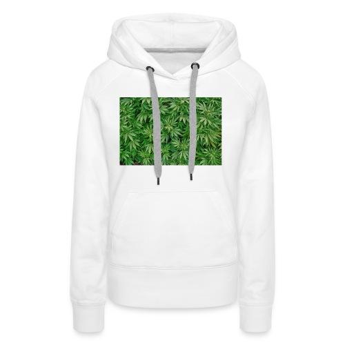 cannabis jpg - Frauen Premium Hoodie