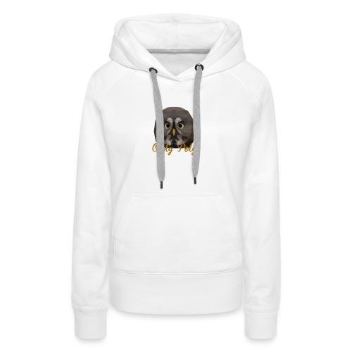 Owly Poly - Sweat-shirt à capuche Premium pour femmes