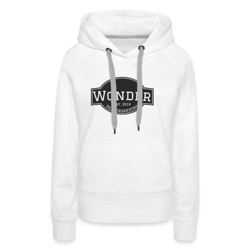Wonder T-shirt - ol' small logo - Dame Premium hættetrøje