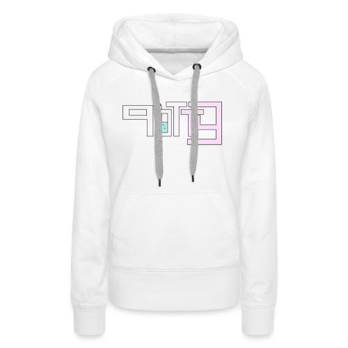 potty shirt voorkant - Vrouwen Premium hoodie