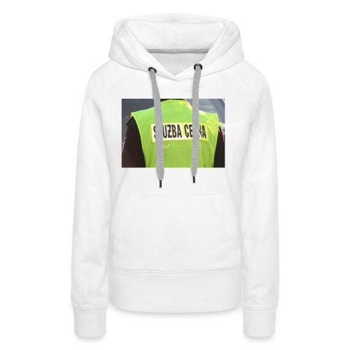policja - Bluza damska Premium z kapturem