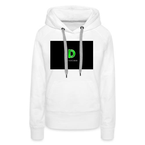 Dvotee-Modern_v2_1 - Women's Premium Hoodie