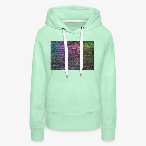 Regenbogenwand - Frauen Premium Hoodie