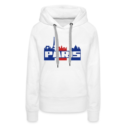 Paris SG - Sweat-shirt à capuche Premium pour femmes