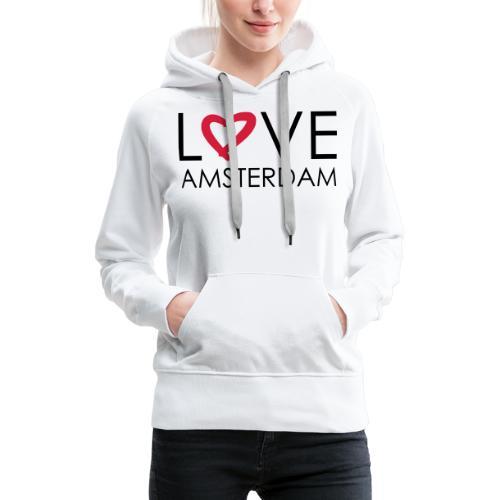 love amsterdam - Frauen Premium Hoodie