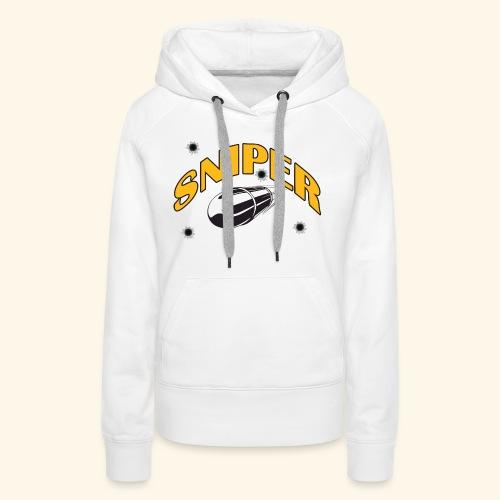 sniper - Vrouwen Premium hoodie