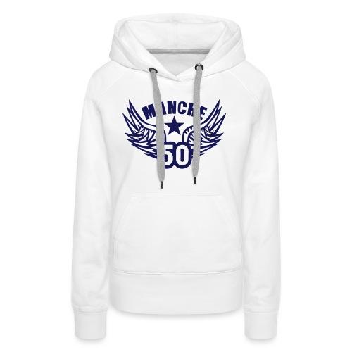 50 manche departement aile normandie - Sweat-shirt à capuche Premium pour femmes