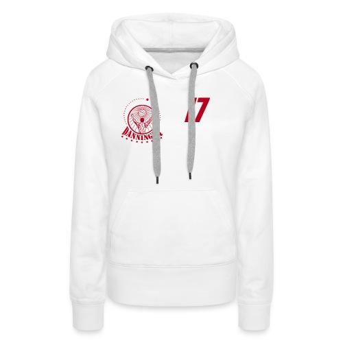 Nummer Logo rot - Frauen Premium Hoodie