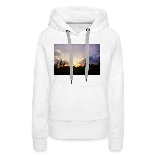 Sunset Ray 2 - Sweat-shirt à capuche Premium pour femmes