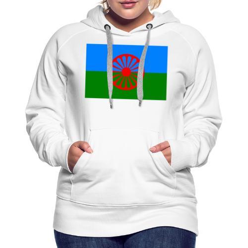Flag of the Romani people - Premiumluvtröja dam