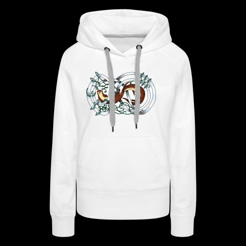 Otters entwined - Women's Premium Hoodie