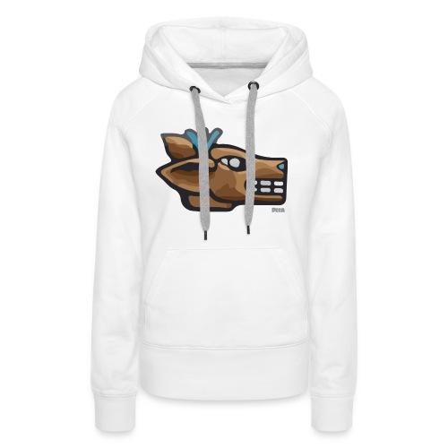 Aztec Icon Deer - Women's Premium Hoodie