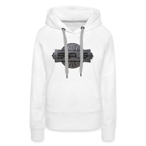 metal background scratches surface 18408 3840x2400 - Vrouwen Premium hoodie