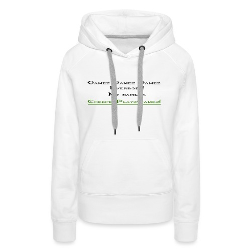 cpg intro - Women's Premium Hoodie