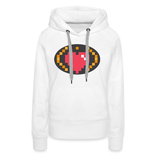 Digital_Heart_Isle - Women's Premium Hoodie