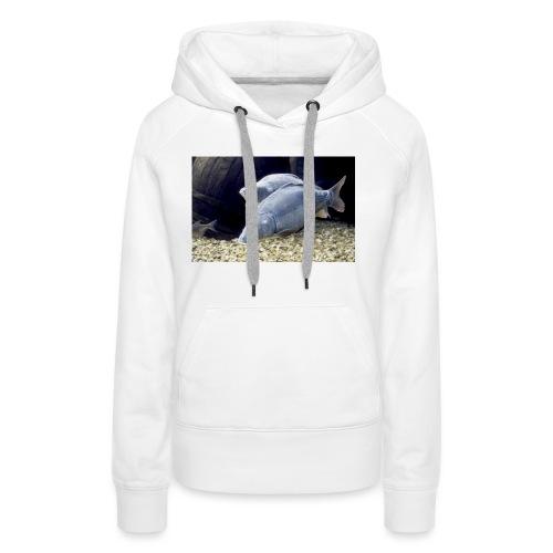 carpe miroir - Sweat-shirt à capuche Premium pour femmes