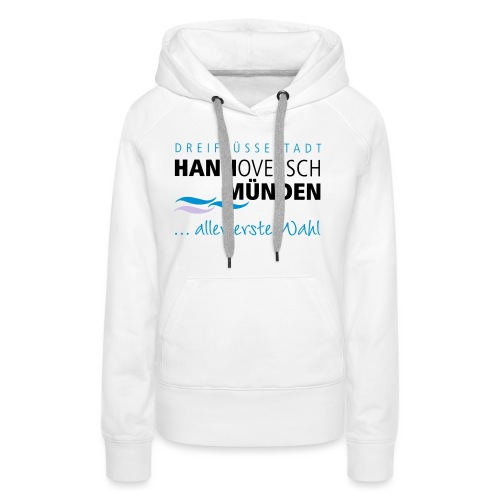 Hann. Münden Logo - Frauen Premium Hoodie