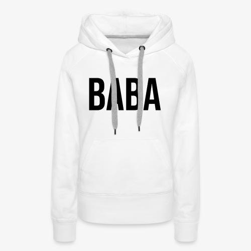 BABA - Frauen Premium Hoodie