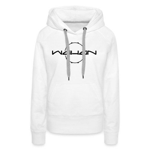 wahan logo hoop small - Frauen Premium Hoodie