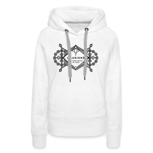 black crest - Frauen Premium Hoodie